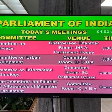 Tharoor led panel barred from holding meeting, bypassed on data protection bill