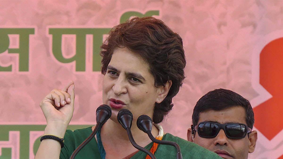 Priyanka Gandhi slams Yogi govt over UP teachers recruitment case, likens it to MP's Vyapam scam