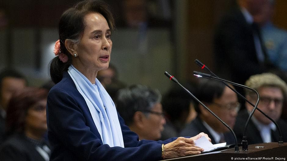 Actions in Myanmar constituted military coup d' tat: US