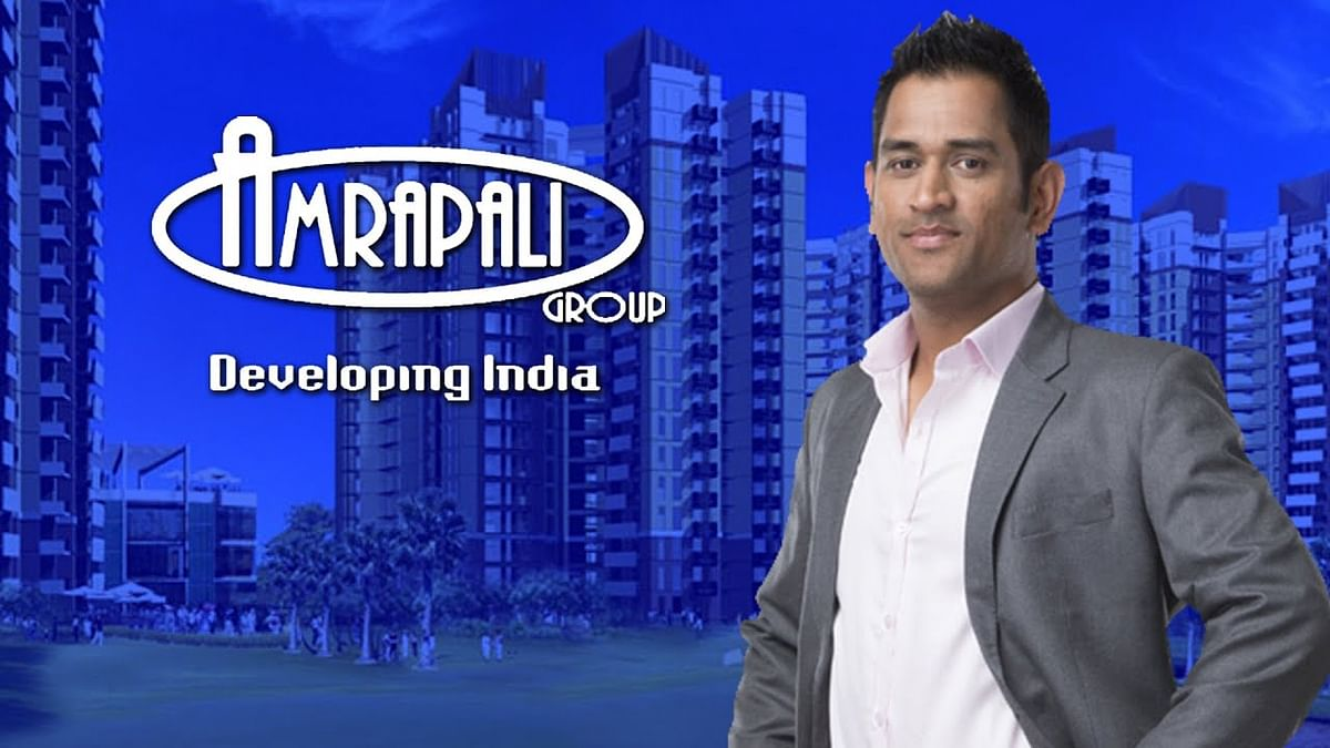 Dhoni in more trouble with 7 FIRs by Amrapali homebuyers alleging his being brand ambassador lured them