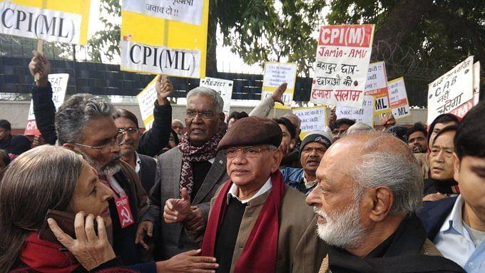 "CAA protests: Yechury, Raja detained, CPI condemns ""dictatorial attitude"" of Delhi Police"