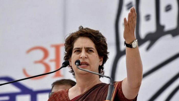 Priyanka Gandhi hits out at UP CM, says there is no space for 'badla'