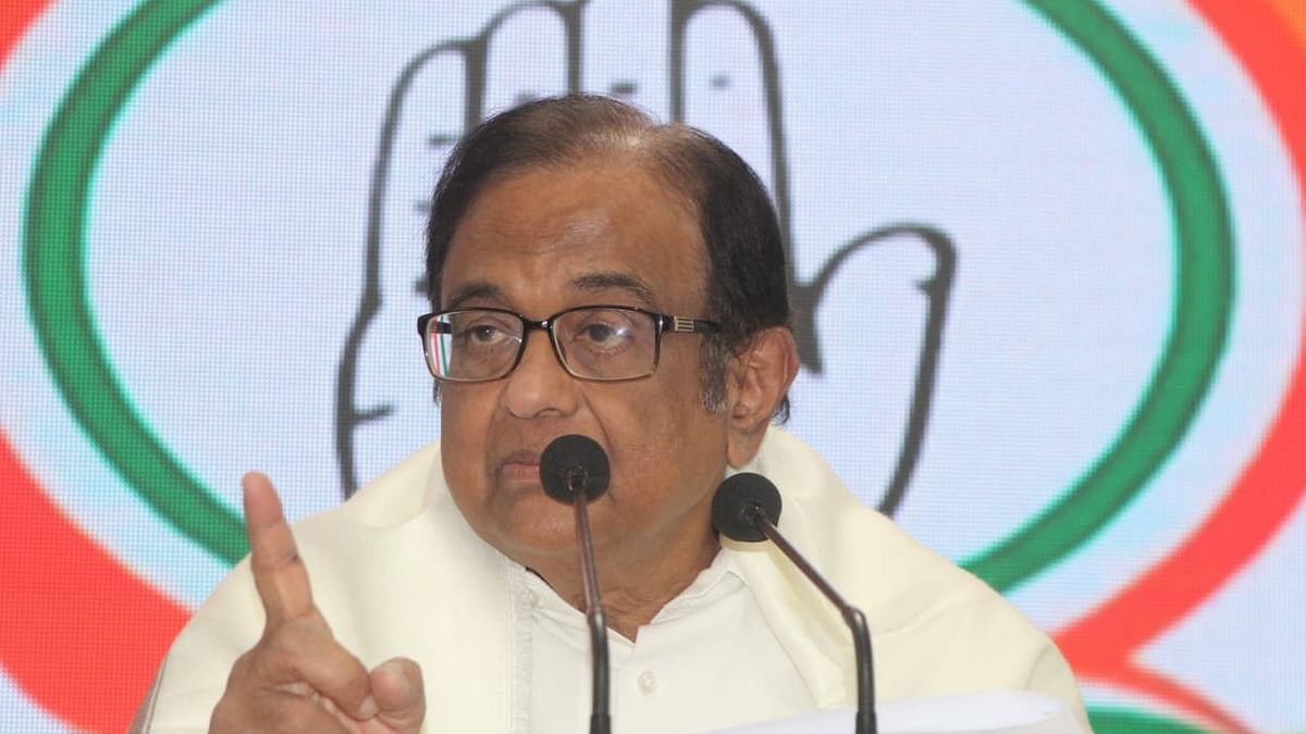 Senior Congress leader Chidambaram (NH Photo by Vipin)