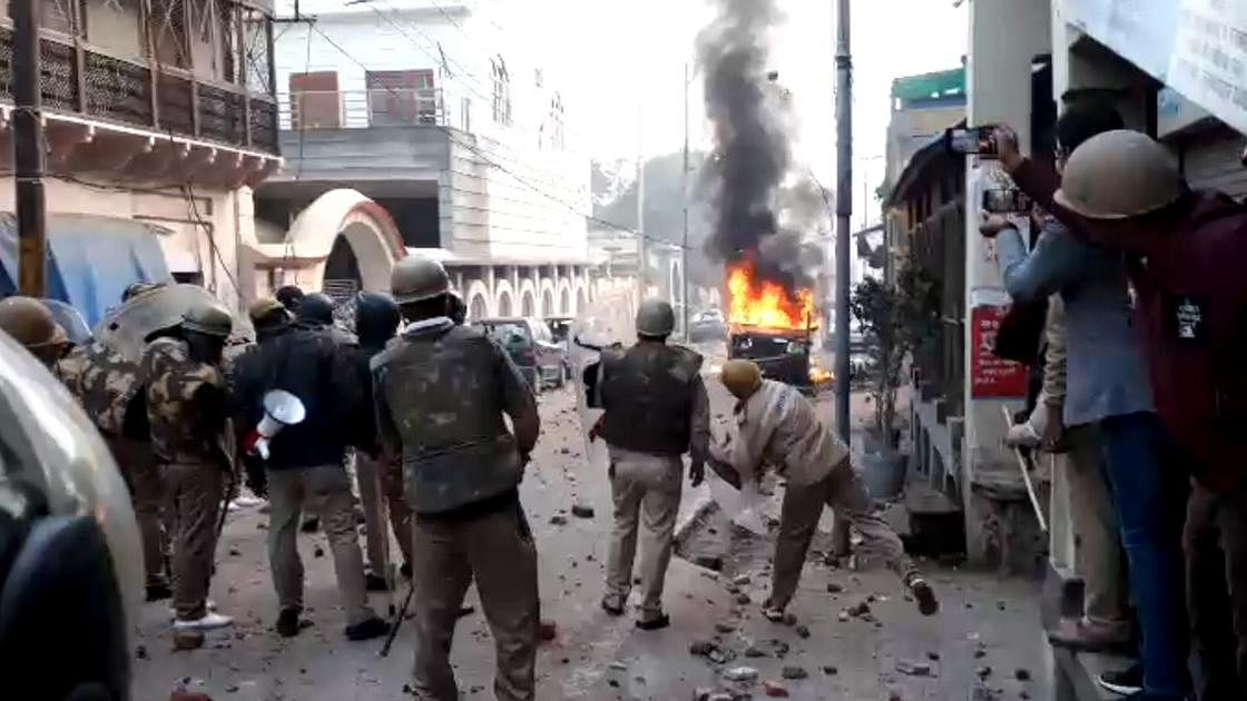 Meerut police shot at protesters, claim families of deceased