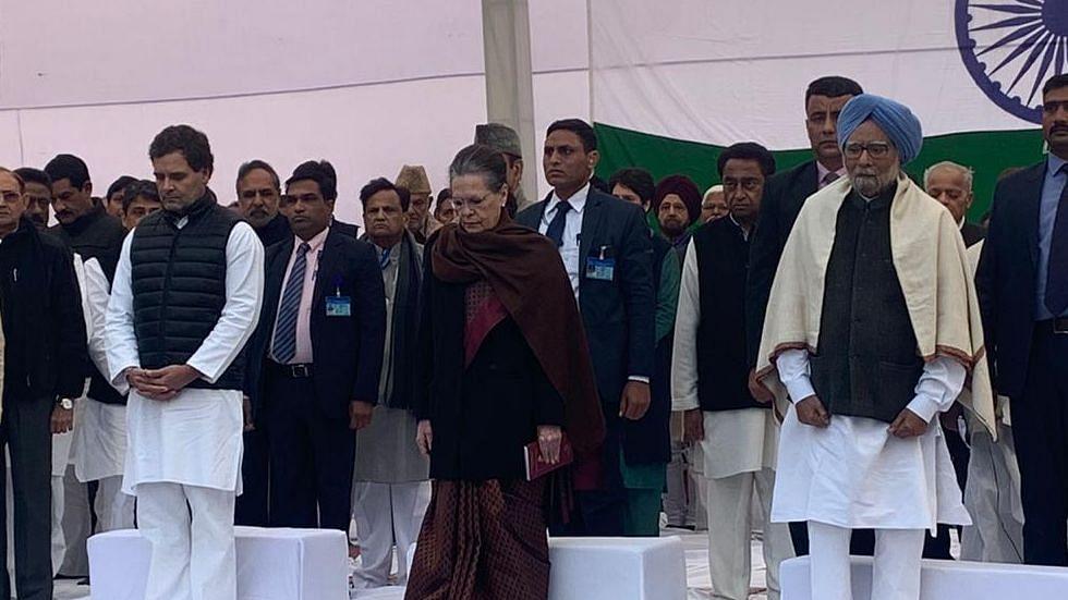 Satyagrah at Rajghat - Nation rises for the sake of truth