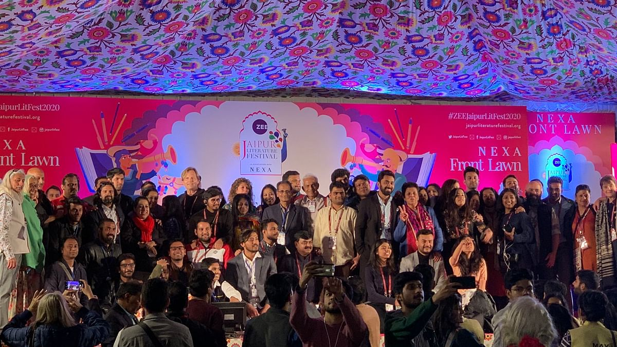 Jaipur Literature Festival 2020 (Photo Courtesy: Twitter)