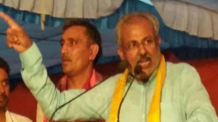 Will bury alive those raising anti-Modi slogans, says UP Minister Raghuraj Singh