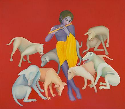Mesmerising mystical art of Manjit Bawa