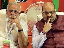 PM Modi and Home Minister Amit Shah (File photo)