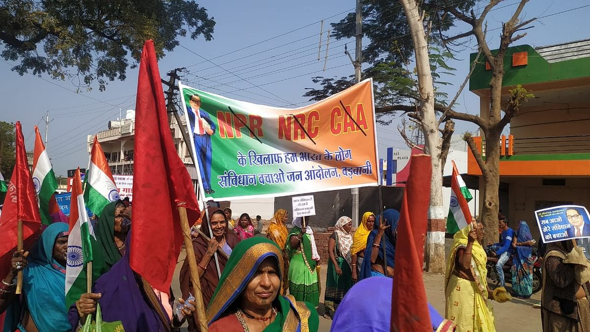 Dalits, Tribals, labour unions hold massive rally against CAA in Malwa, demand resolution from MP govt