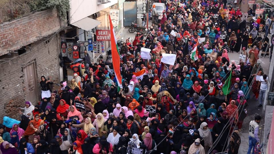 Punjab: Thousands of women take to streets against CAA, NRC in Ludhiana; write an affidavit in blood