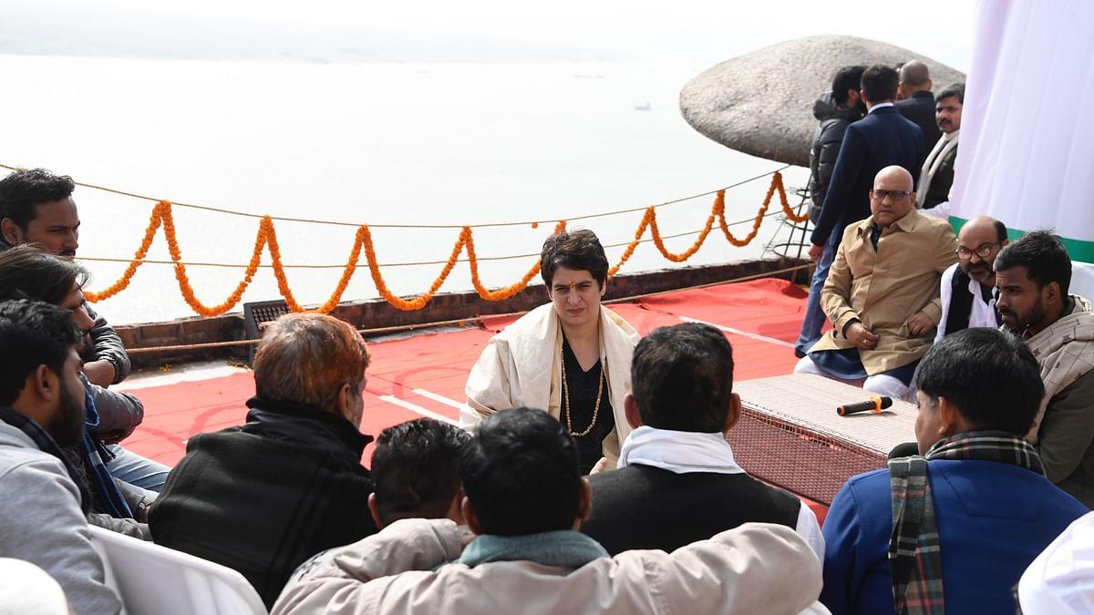 Will revoke anti-poor CAA-NRC if voted to power, says Priyanka Gandhi in Varanasi