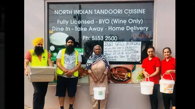 Indian eatery provides free meals to Aus bushfire victims