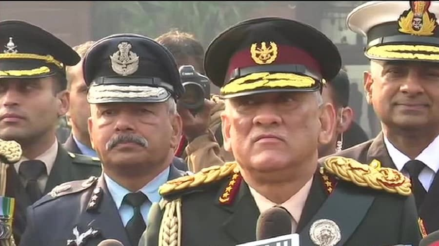 General Bipin Rawat takes charge as first Chief of Defence Staff