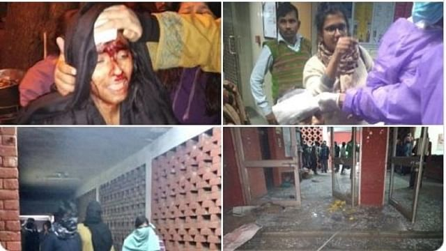 Delhi police allow 'nationalist mob' to attack JNU, vandalise hostels