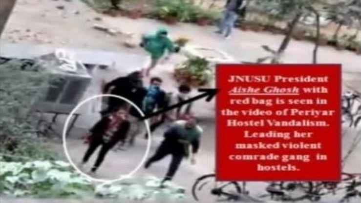 Aishe and team claim innocence, say Delhi Police biased