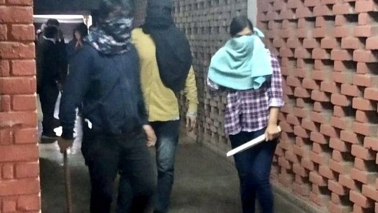 No inciting slogans, violence at JNU gate on January 5: Govt