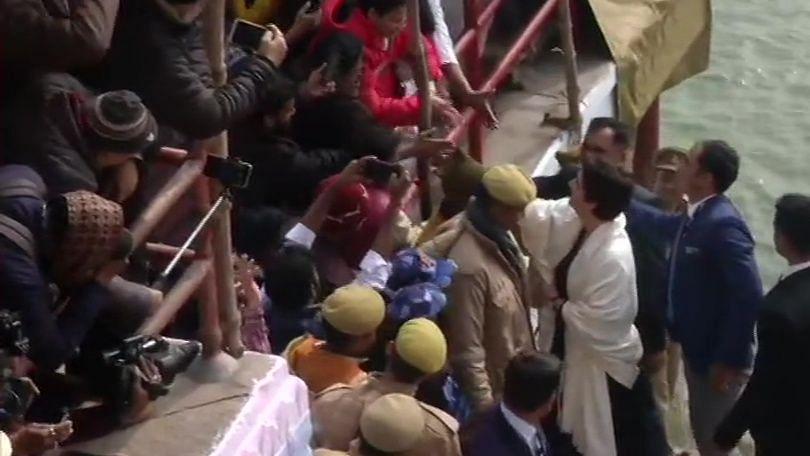 Priyanka Gandhi in Varanasi, to meet activists held during CAA protests