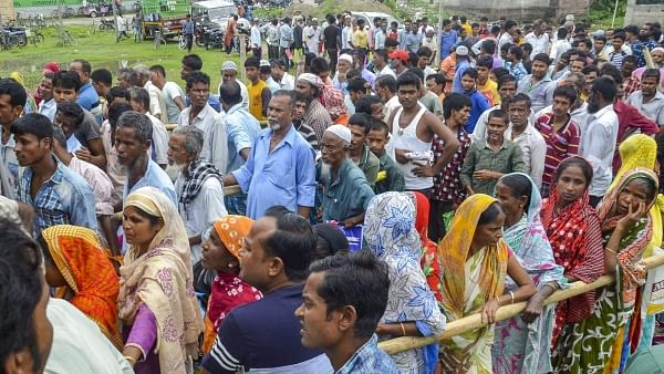 Protest against NRC in Assam (PTI Photo-file)
