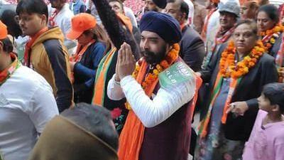 Tajinder Pal Singh Bagga (Photo Courtesy: Twitter)