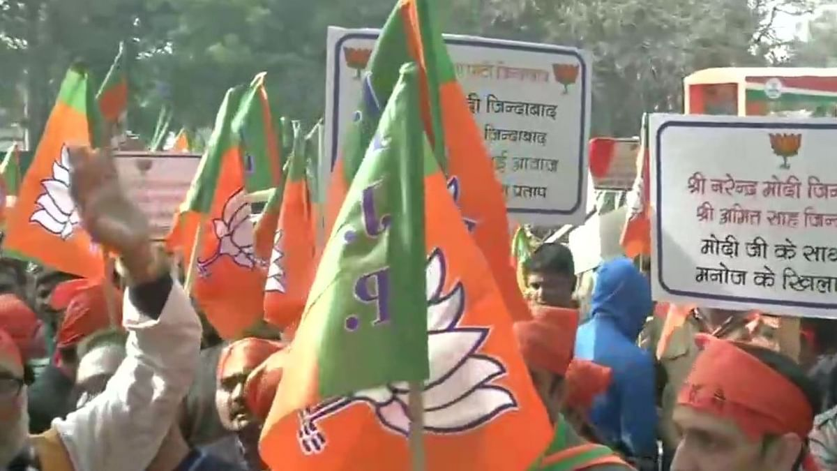 LIVE News Updates: BJP workers hold protest outside party office in Delhi, over ticket distribution