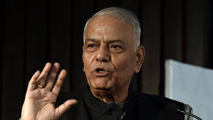 Can't ignore states, anti-CAA resolutions: Yashwant Sinha