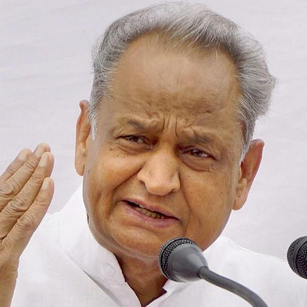 Rajasthan CM Ashok Gehlot (File photo)