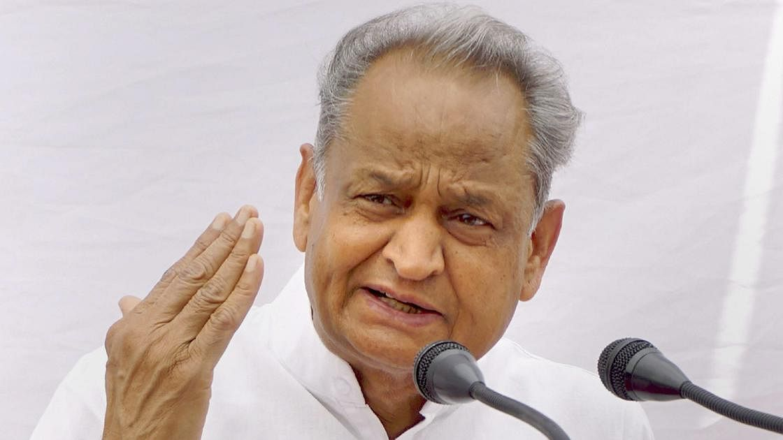 Rajasthan CM Ashok Gehlot calls upon Centre to resolve farmers' grievances at dharna held in Jaipur