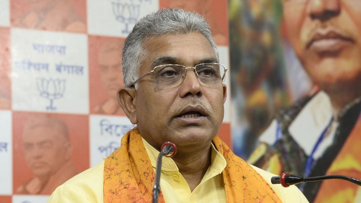 Those involved in damaging public property will be shot like in Uttar Pradesh, says Dilip Ghosh