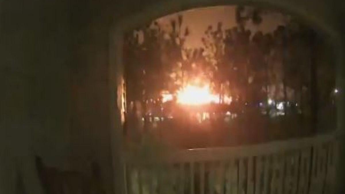 Houston building explosion shakes city, scatters debris