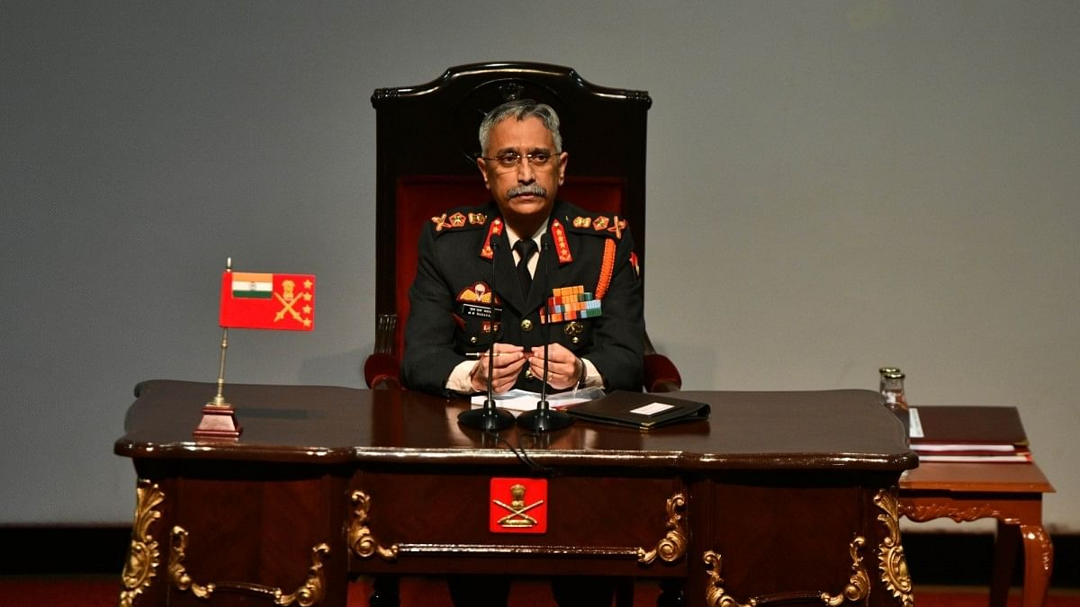 Army on high alert along border with China: Gen Naravane