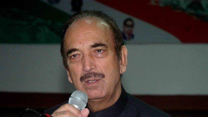 Congress leader Ghulam Nabi Azad (IANS Photo)