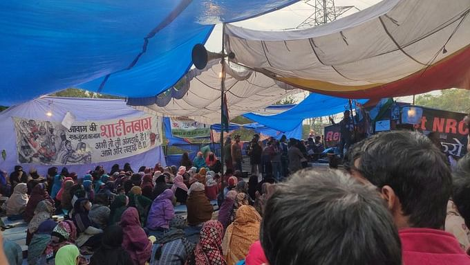 Shaheen Bagh: Anti-CAA, NRC protest continues amid drizzle