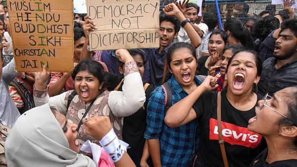Who is afraid of students in politics? And who advises students to stay away from politics ?