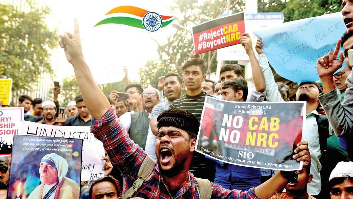 Youth reclaiming the Republic, the tricolour and the Constitution like never before