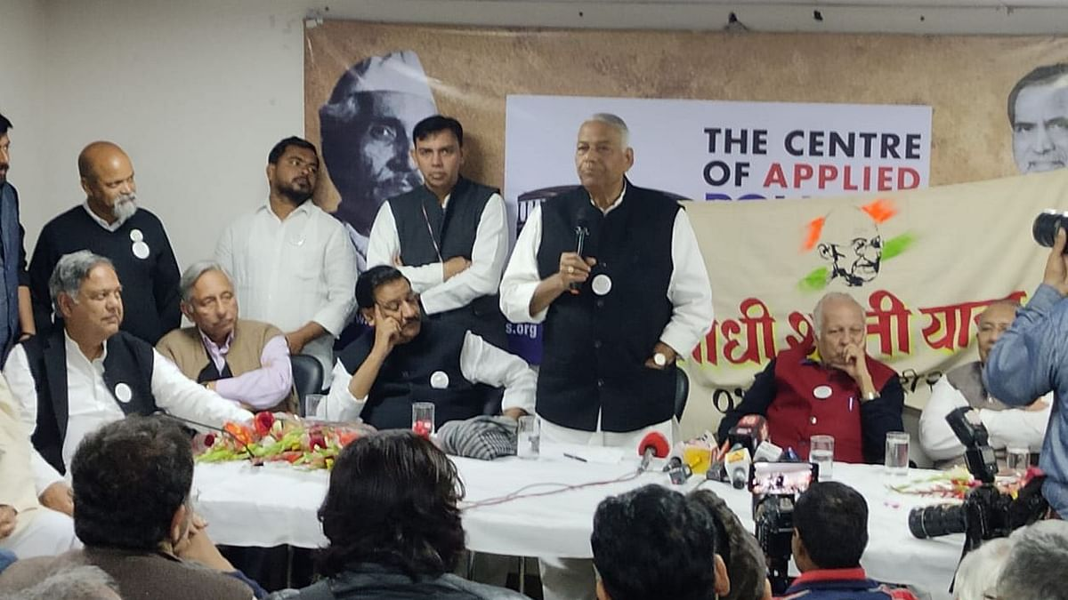 Will not allow another partition on religious lines: Yashwant Sinha