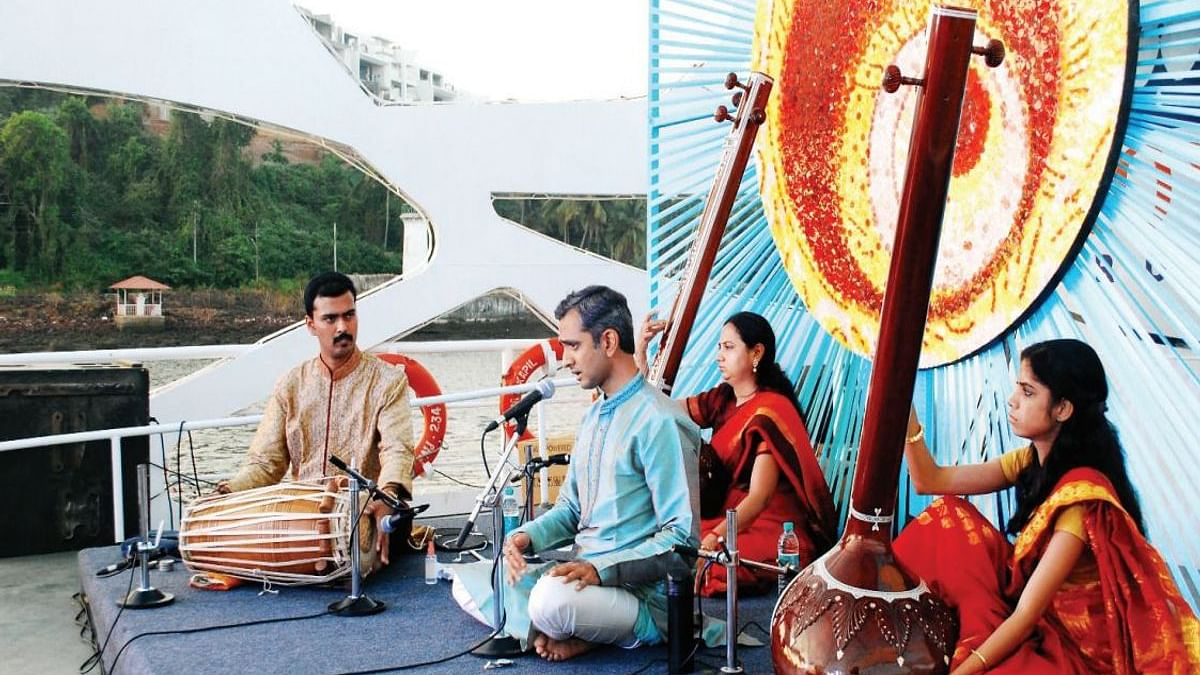 River Raga - a Hindustani classical music concert on a ferry cruise along the Mandovi river