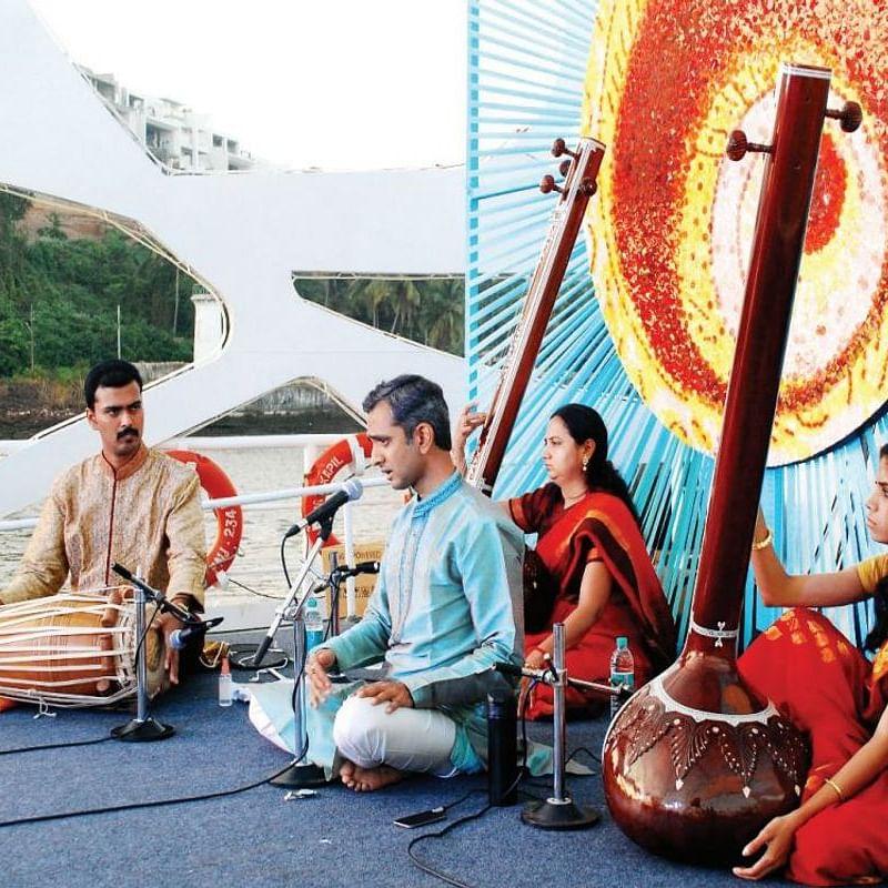 River Raga - a Hindustani classical music concert on a ferry cruise along the Mandovi river