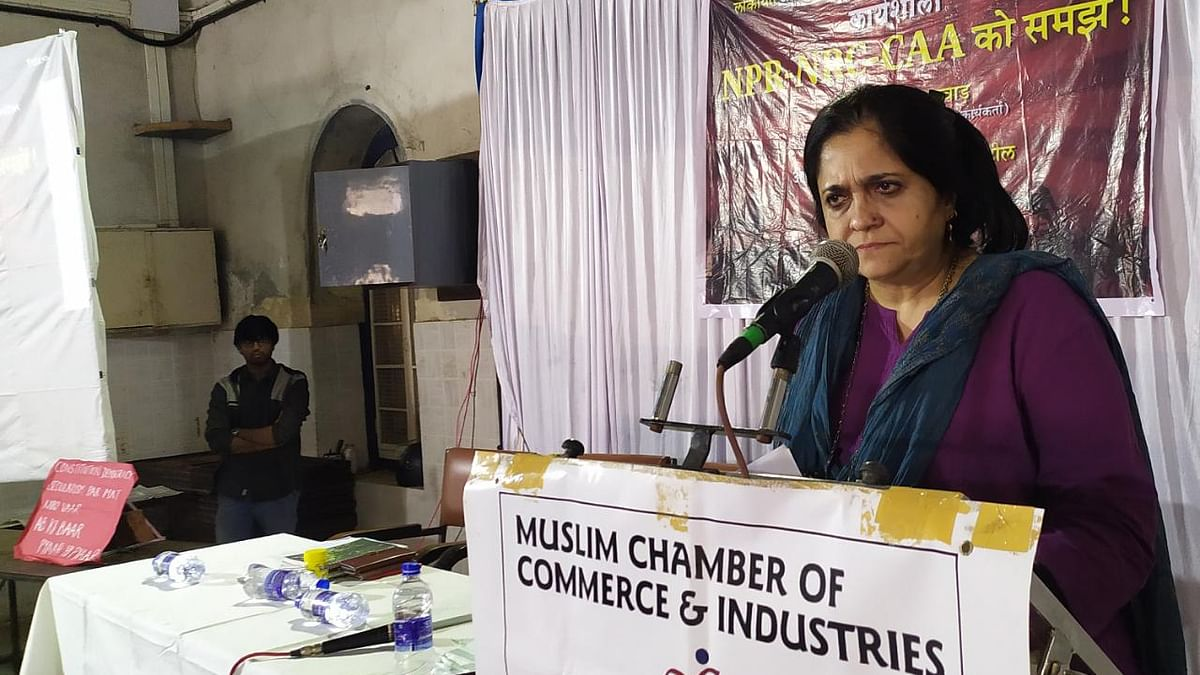 Document-based citizenship does not exist anywhere in the world: Teesta Setalvad
