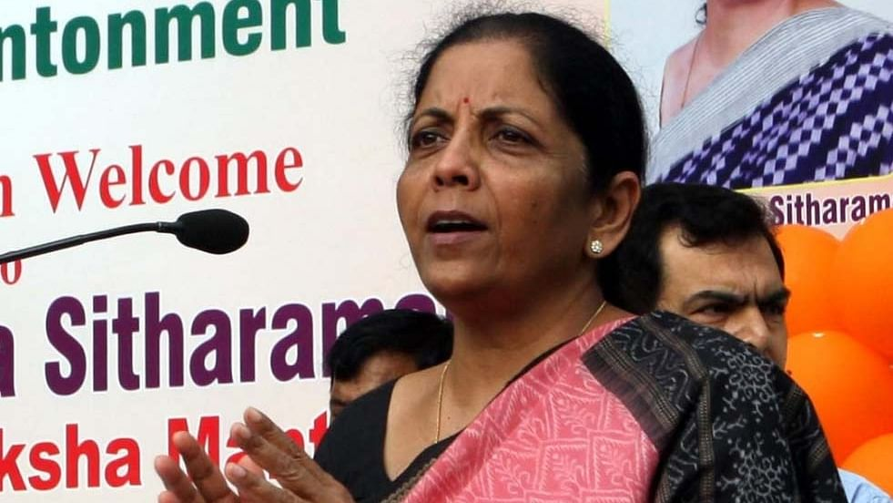 Finance Minister Nirmala Sitharaman (Photo Courtesy: IANS)