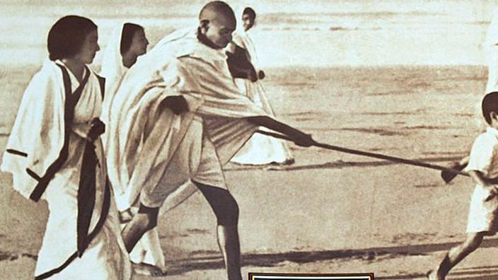 Gandhi's India in danger of morphing into Godse's India but there is still hope
