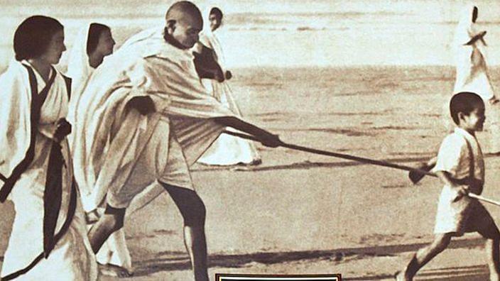 Gandhi's guiding light still shines to defeat darkness