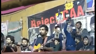 Prateek Kuhad and many other artists perform in Shaheen Bagh in solidarity with anti-CAA protest