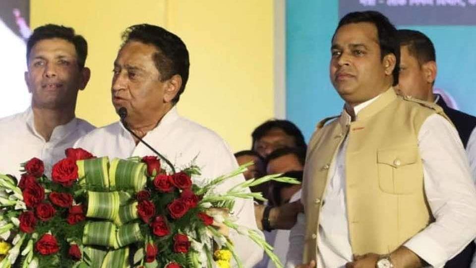 Madhya Pradesh: Three BJP leaders join Congress, say 'joining secular forces'