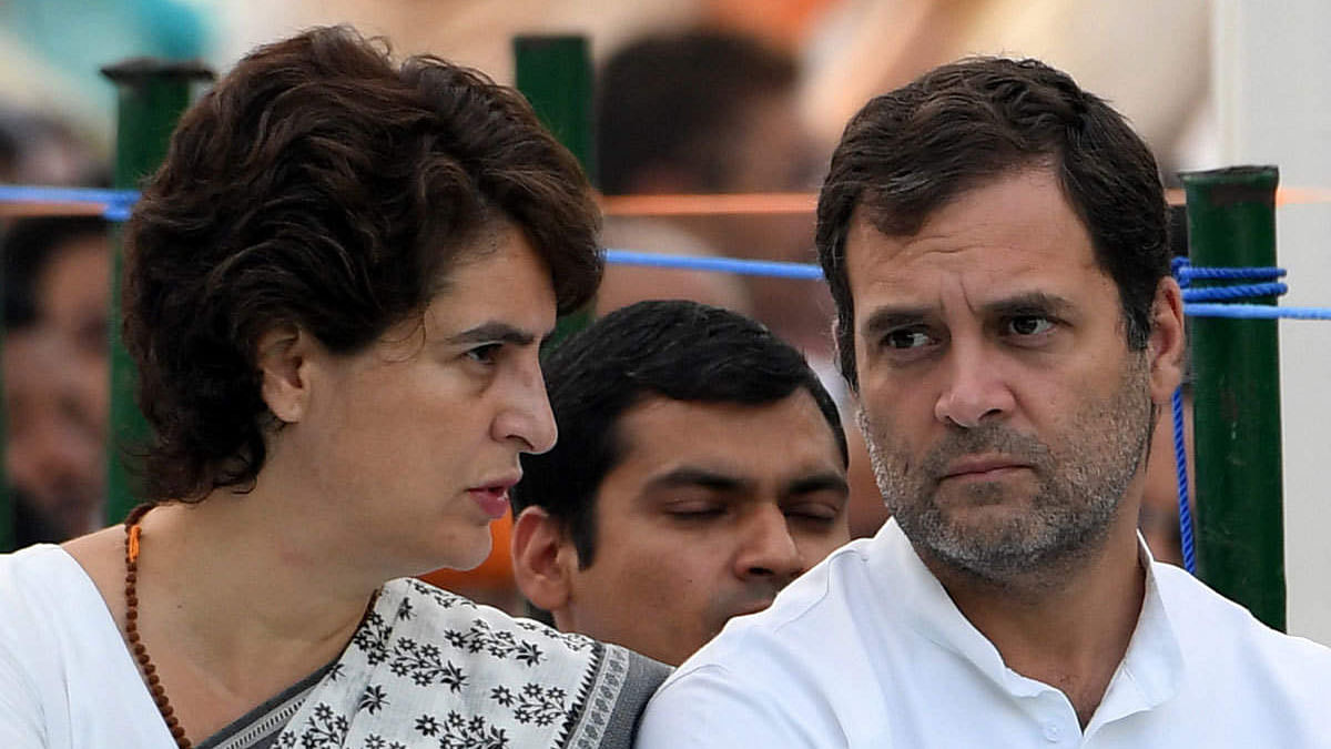 Rahul and Priyanka Gandhi slam UP govt over issue of safety of women in state