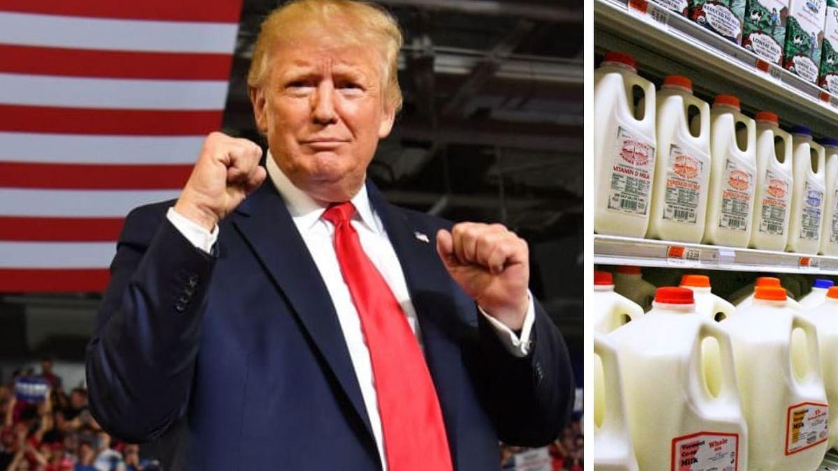RSS affiliate Swadeshi Jagran Manch warns against 'non-veg' milk ahead of  US President Trump visit