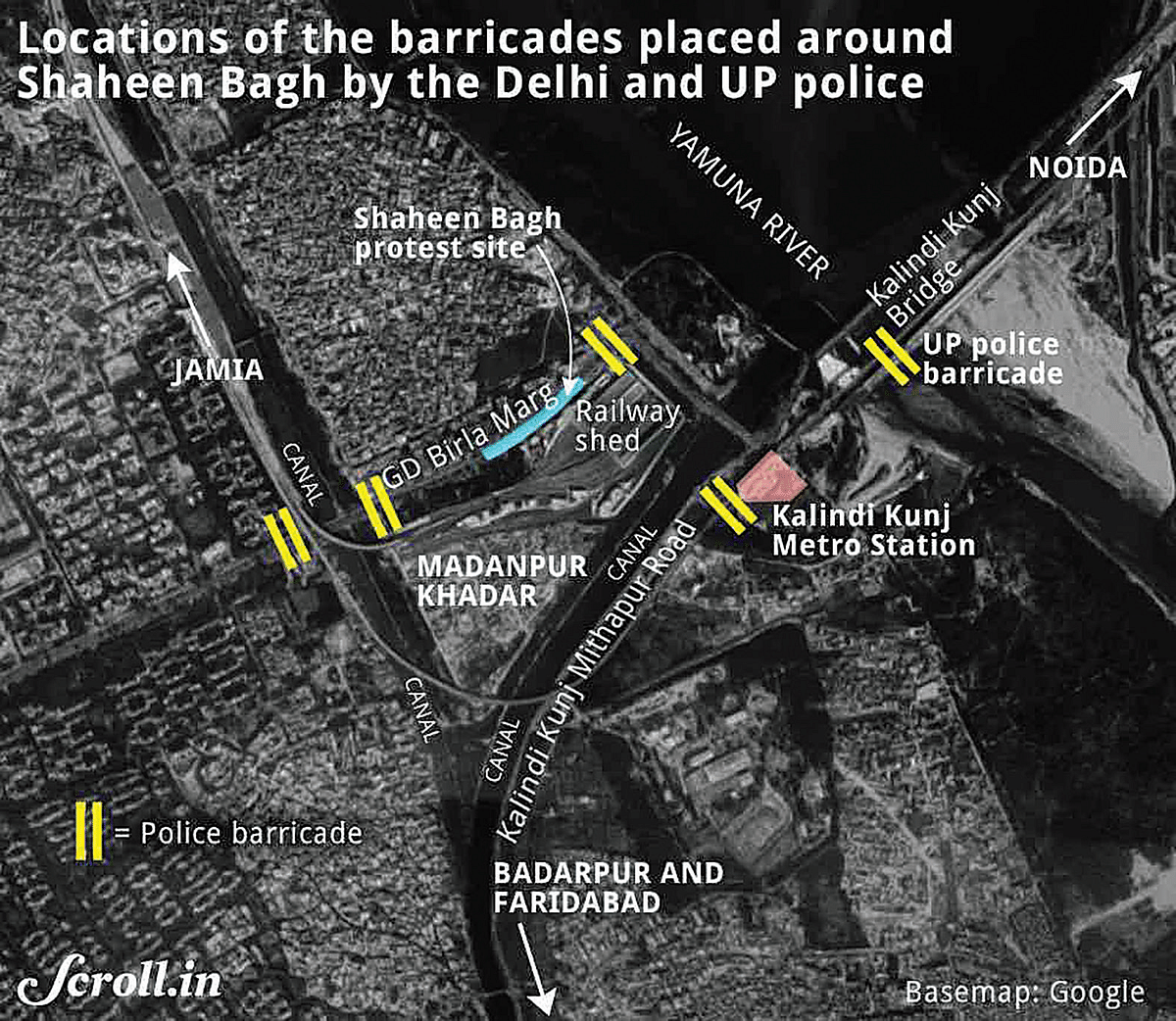 Reporting from Ground Zero: first-person account from Delhi's Shaheen Bagh