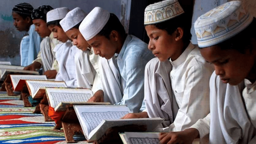 Madrasa children an easy target of the communal virus in times of corona