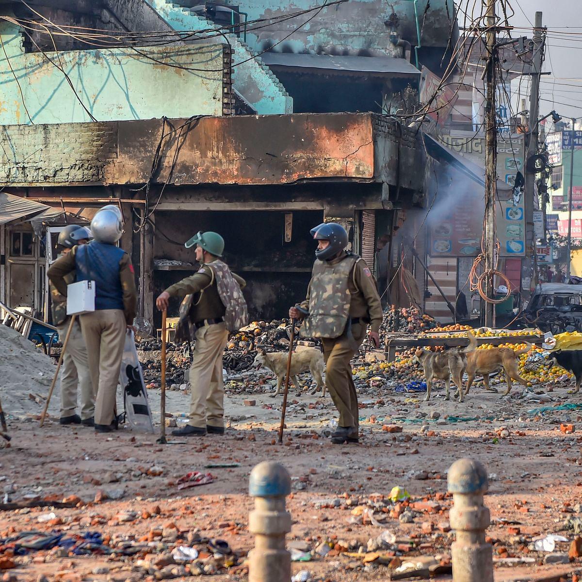 Aftermath of Delhi violence. (PTI Photo)
