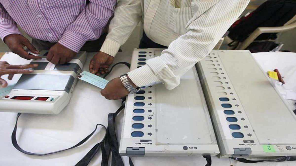 Assam: Repoll in one polling station after EVM controversy